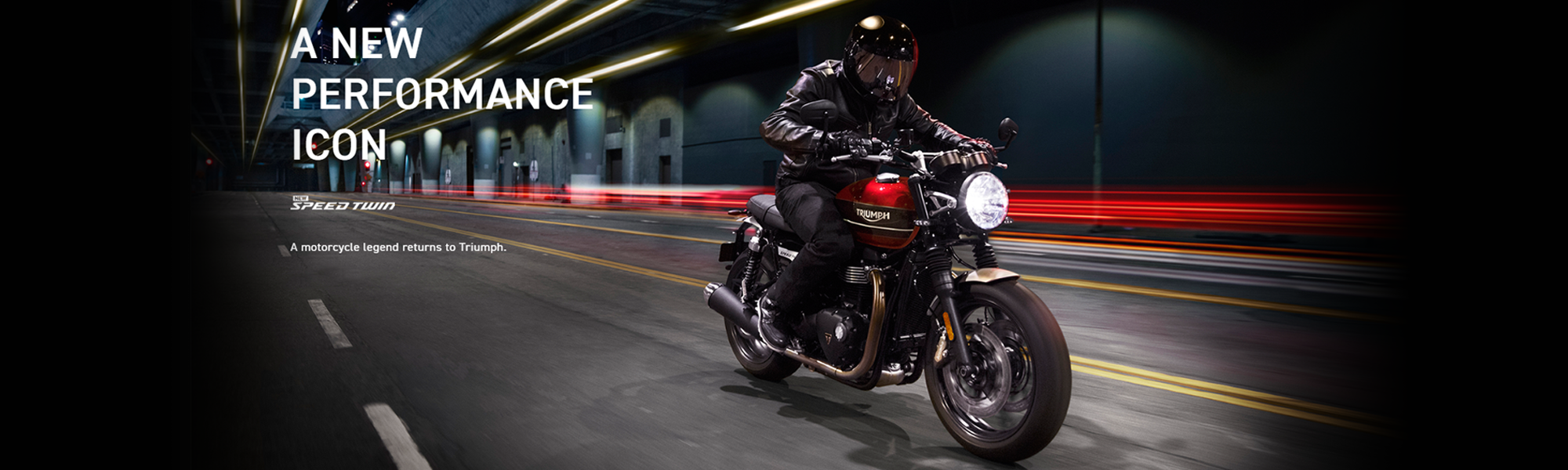 A New Performance Icon Triumph Speed Twin