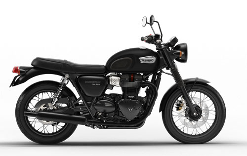 2018 Bonneville T100 Black