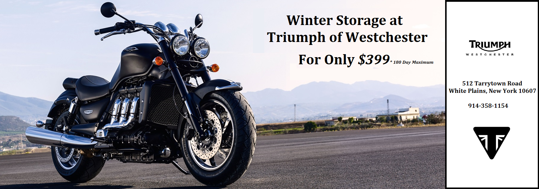Winter Storage at Triumph of Westchester
