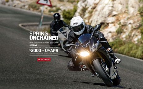 Spring Unchained Promotion
