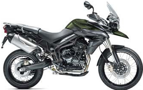 2014 Triumph of Westchester Tiger 800 XC